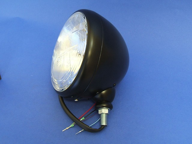 Headlight Assembly Black Bowl RHD