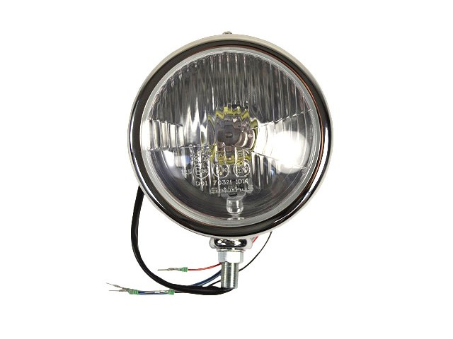 CHROME HEADLIGHT UNIT 5 3/4""