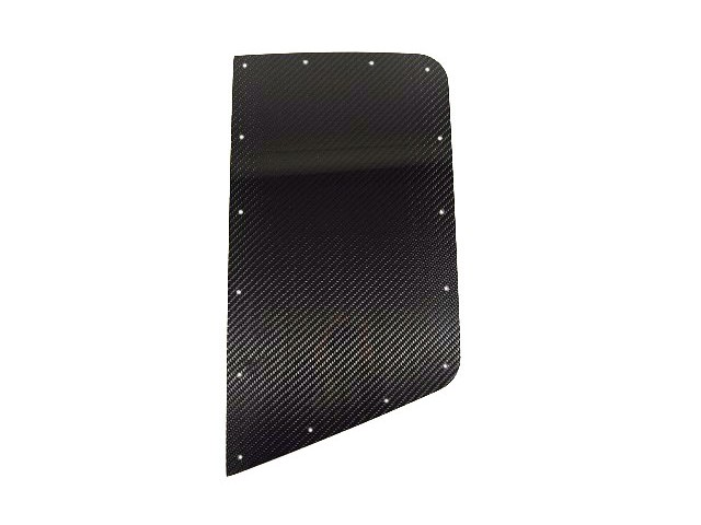 CARBON REAR WING PROTECTOR LH TALL NO CUT OUT