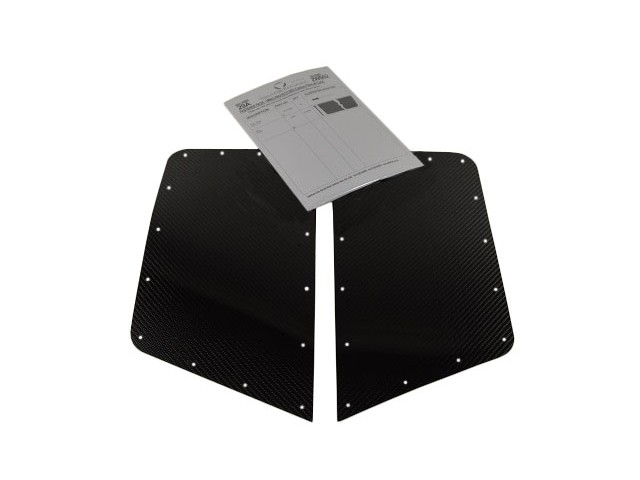REAR WING PROTECTOR KIT CARBON SYMMETRICAL WINGS