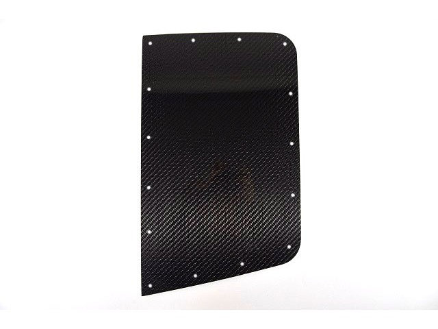 CARBON REAR WING PROTECTOR LH TALL (CUT OUT)