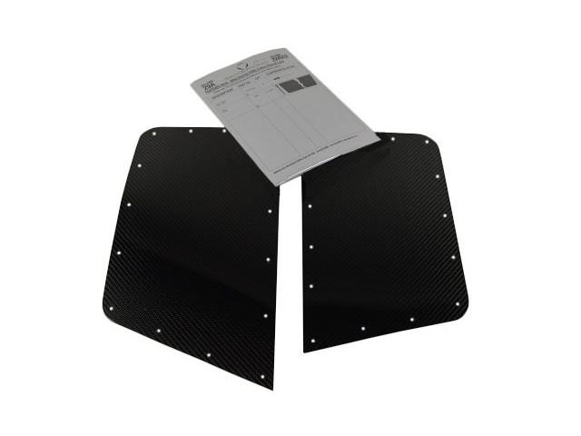 Rear Wing Protectors - Carbon Fibre