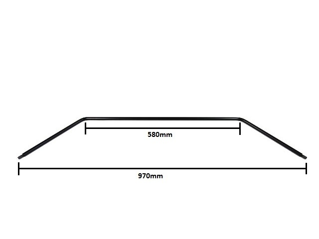 Anti Roll Bar - Front - 1/2'' - Wide Track