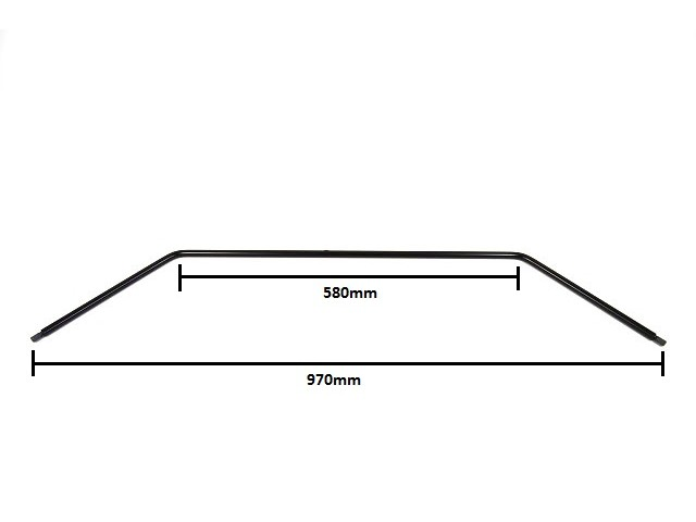 Anti Roll Bar - Front - 5/8'' Widetrack