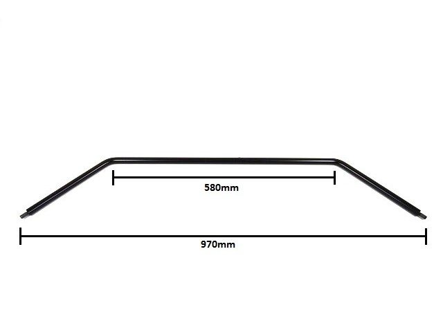 Front Anti Roll Bar - 18mm diameter - Wide Track