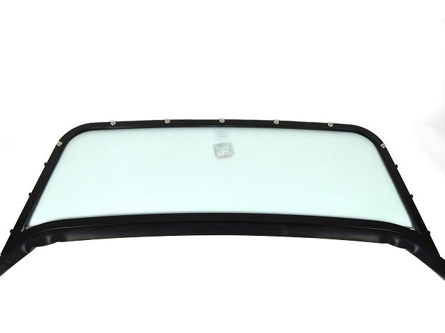 Windscreen Assembly - Black Frame - S3