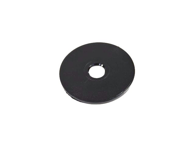 Black Plastic Spacer Washer - 2mm thick