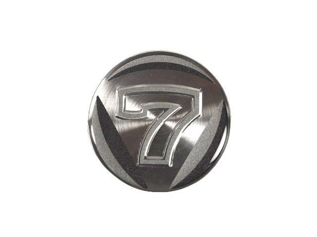 Centre Cap Badge Silver