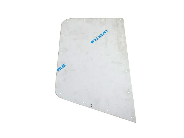 Wing Protector - RHS - Stainless Steel