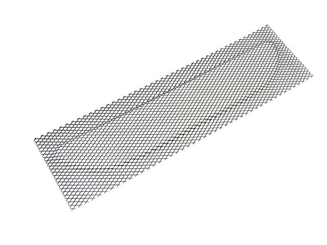 CHIN GRILLE EXPANDED MESH 420 RACE