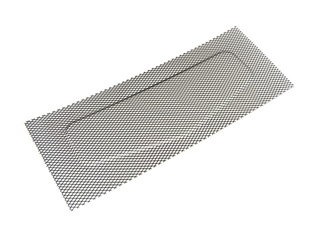 NOSE CONE UPPER VENT MESH S3 420 RACE AND R500