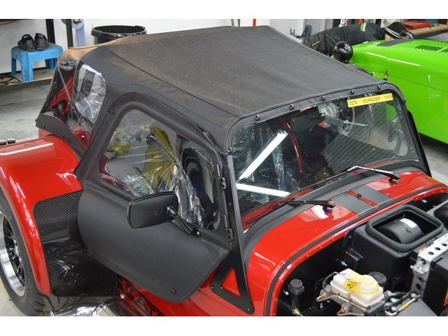 HOOD WITH ZIP OUT REAR WINDOW - ACADEMY S3