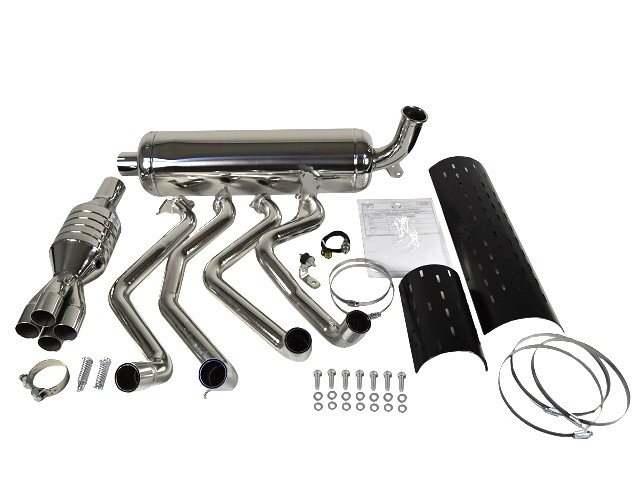 Exhaust System - Duratec R400 Road with Cat
