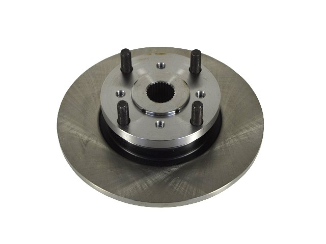 Brake Disc and Flange Assembly