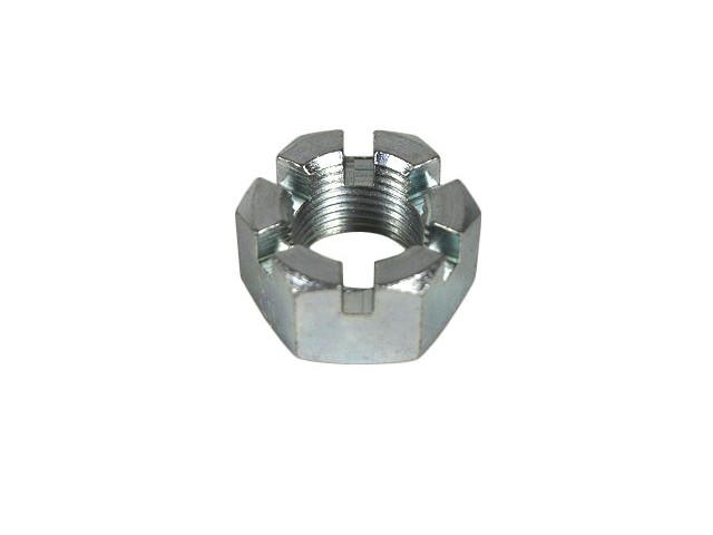 Nut - Castellated/Slotted - Front Hub