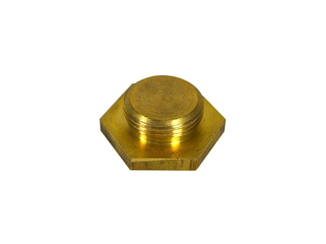 Plug - Radiator - Brass