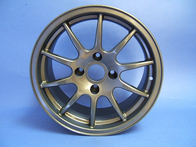 "Wheel - CSR - 6.5x15"" - 10 Spoke - Anthracite Colour"