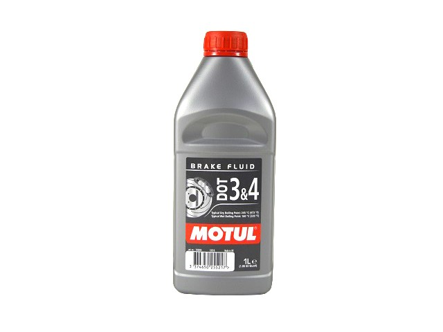 MOTUL DOT 3 & 4 BRAKE FLUID - 1L