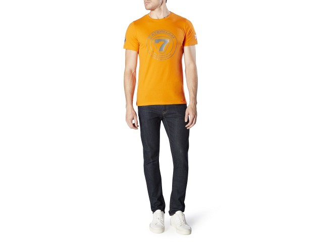 T-SHIRT WITH GREY ROUNDAL