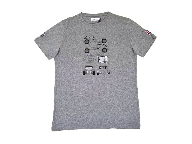 T-SHIRT WITH CAR OUTLINE