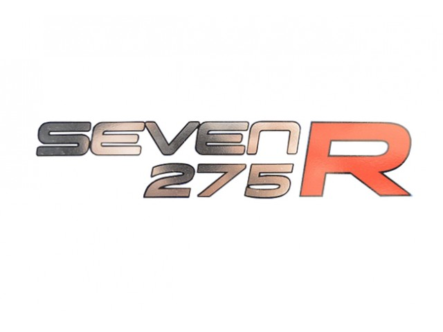 DECAL REAR SEVEN 275 R