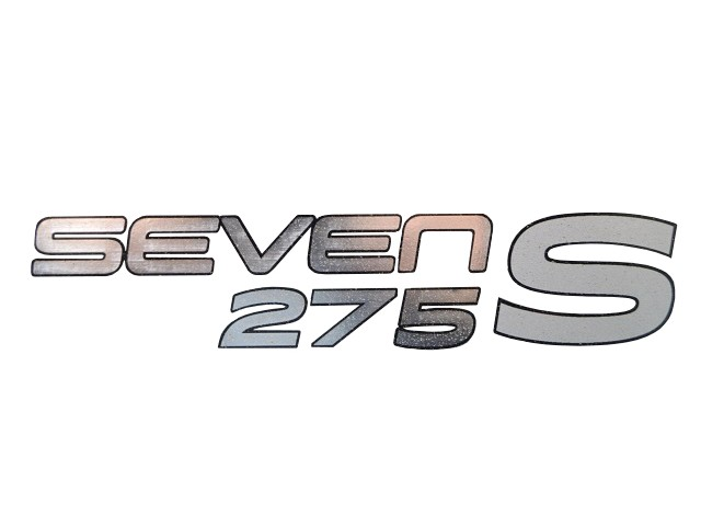 DECAL REAR SEVEN 275 S