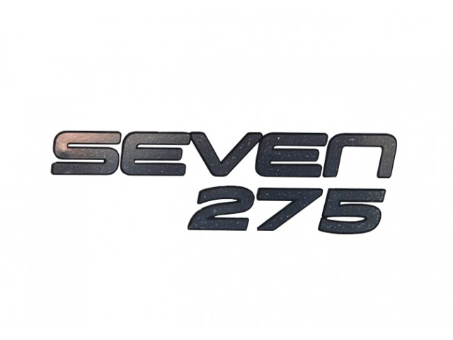 DECAL REAR SEVEN 275