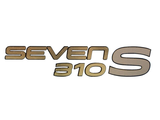 DECAL REAR SEVEN 310 S