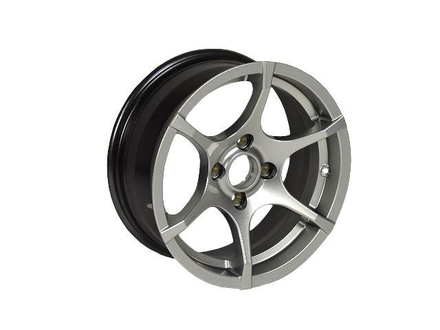 """6.5x15"""" ORCUS WHEEL - SPORT SILVER"""