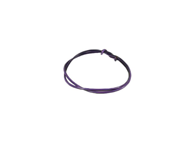 Cable - Purple/Black - 1mm (per metre)