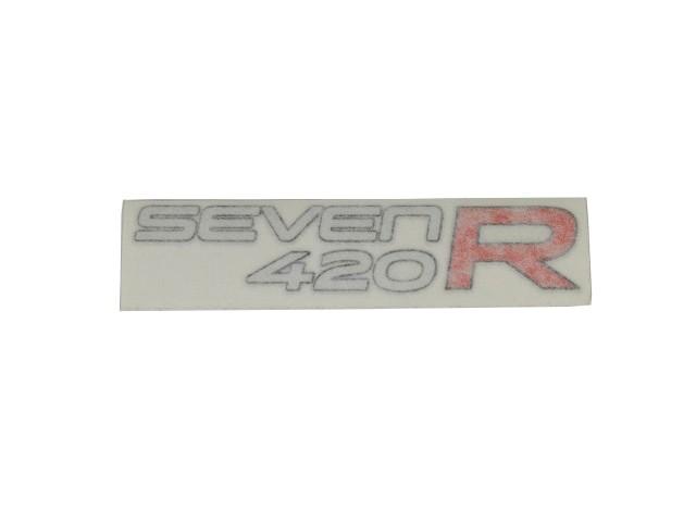 DECAL BONNET SEVEN 420 R