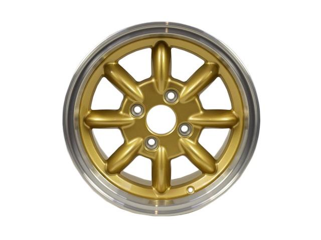 "6x14"" CLASSIC WHEEL - GOLD DIAMOND CUT"