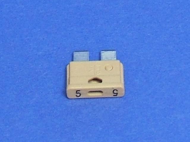 Fuse - Orange - 5 amp - Flat Blade Type