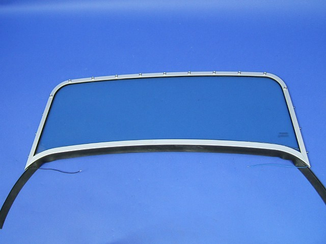 Windscreen Assembly - Anodised Frame - SV