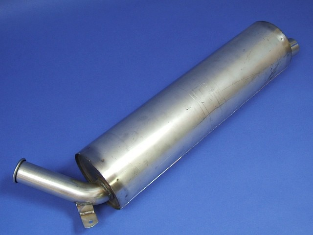 Exhaust Silencer - Side Exit - 7""