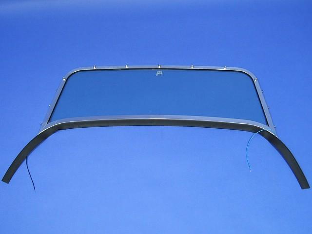 Windscreen Assembly - Polished Frame - S3