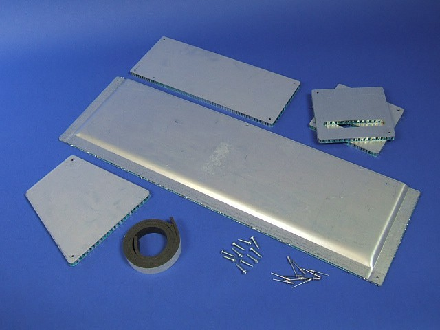 FUEL TANK PROTECTION KIT S3 INJECTION CARS