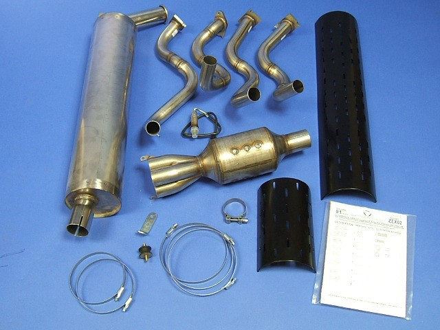 Exhaust Kit - Rover - Side Exit - VHPD - LHD