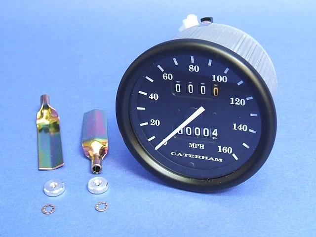 Speedometer - MPH - (V Pointer) - SVA Bezel