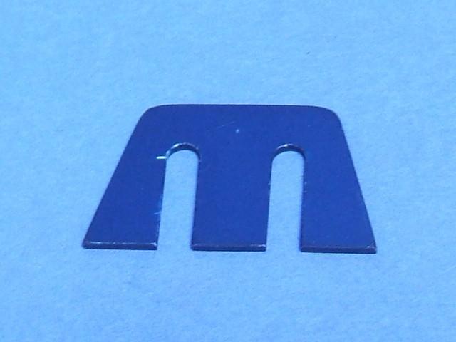 Rear Camber Shim - 1/2 degree - Blue - CSR