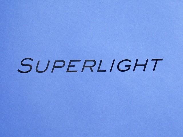 "Decal - Bonnet - Black - Superlight - 7""Long"