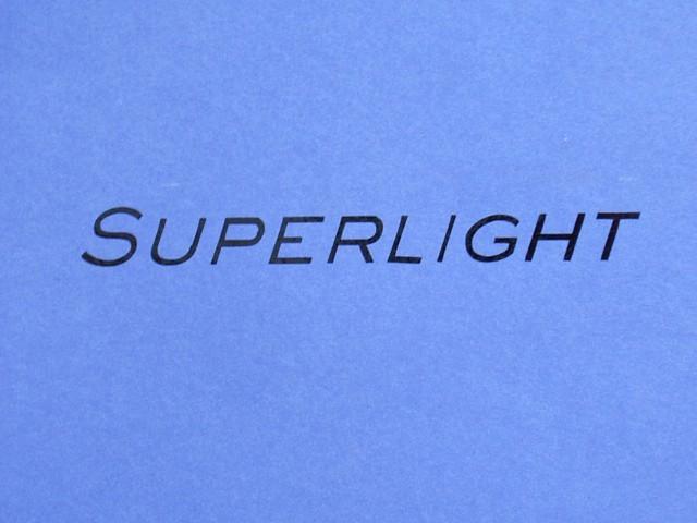 Decal - Rear Panel - Superlight - Black