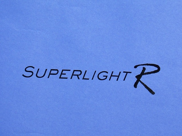 Decal - Rear Panel - Superlight R - Black