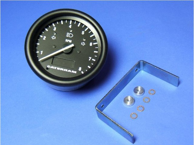 Tachometer - CSR - Black