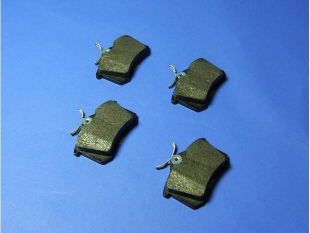 Brake Pad Set - Rear Caliper - CSR