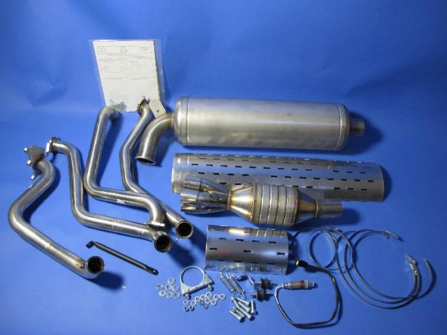 "Exhaust System - R300 Race 7"" Silencer"