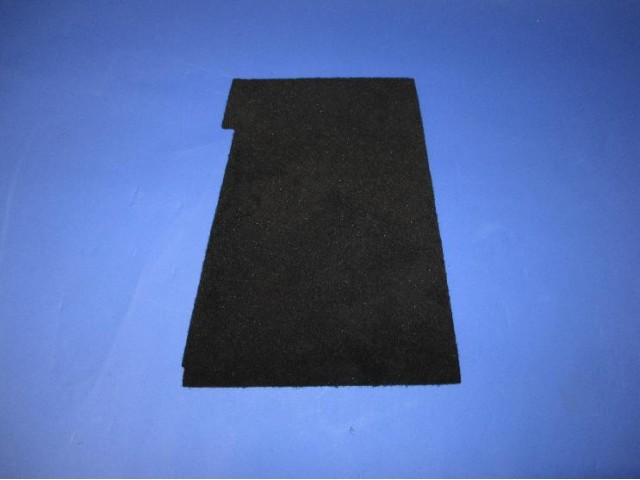 Footwell Carpet - CSR - L/H Lowered Floor - New Dash