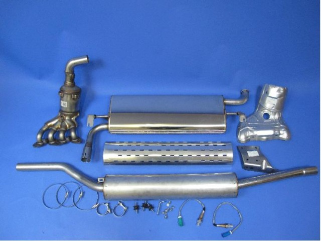 Exhaust System Sigma EU4 - Series 3