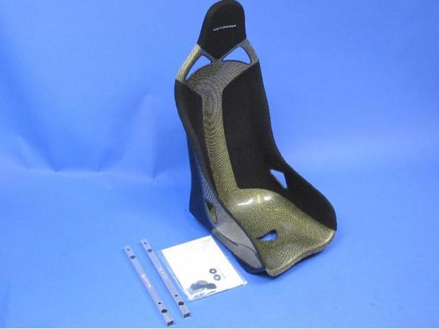 SEAT KIT CARBON/KEVLAR FIXED (PASSENGER)