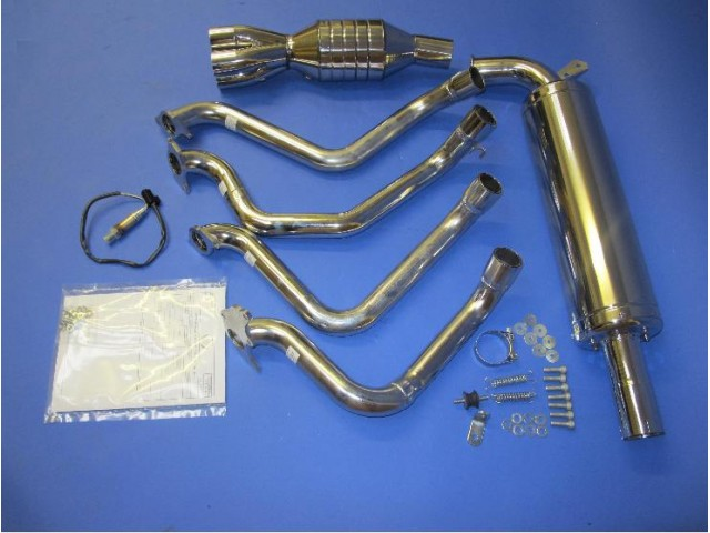 Exhaust System R500 Road - Less Cat and Guard